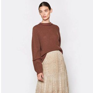 New Joie Roshan Wool & Cashmere brown Sweater